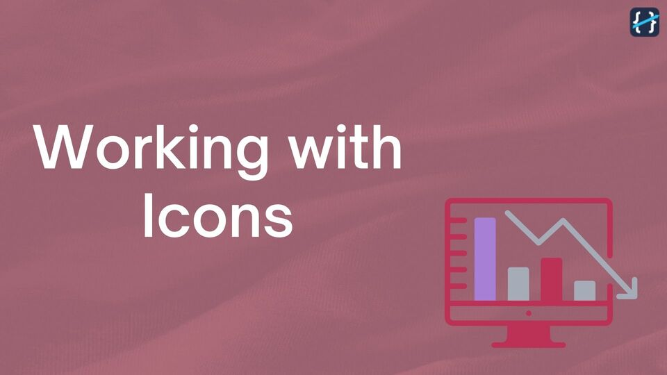 Working with Icons while Designing your Web Page