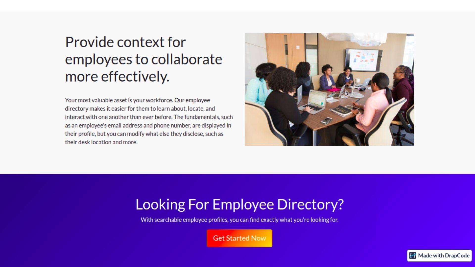 Employee Directory - Template