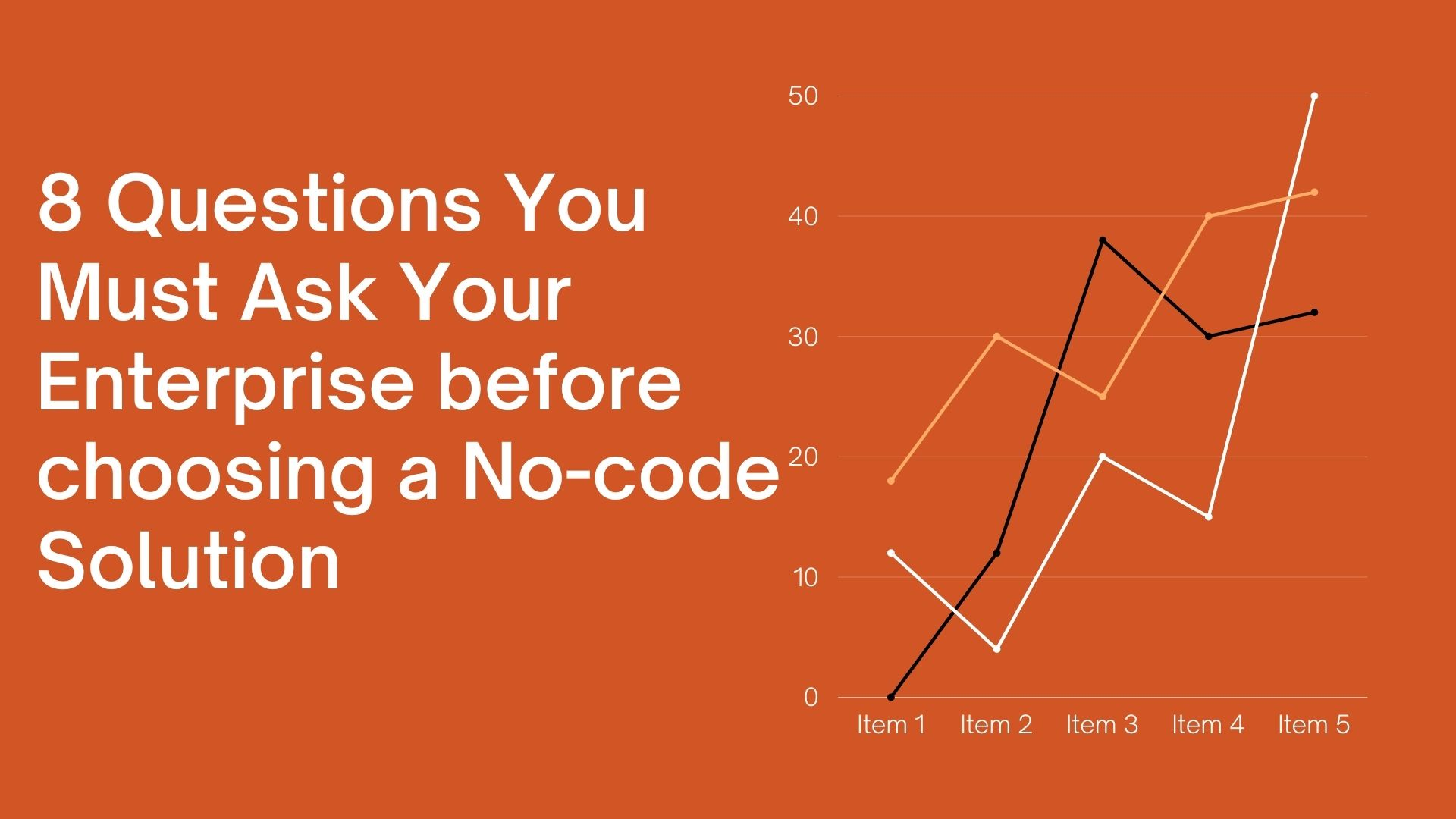 8 Questions You Must Ask Your Enterprise before choosing a No-code Solution