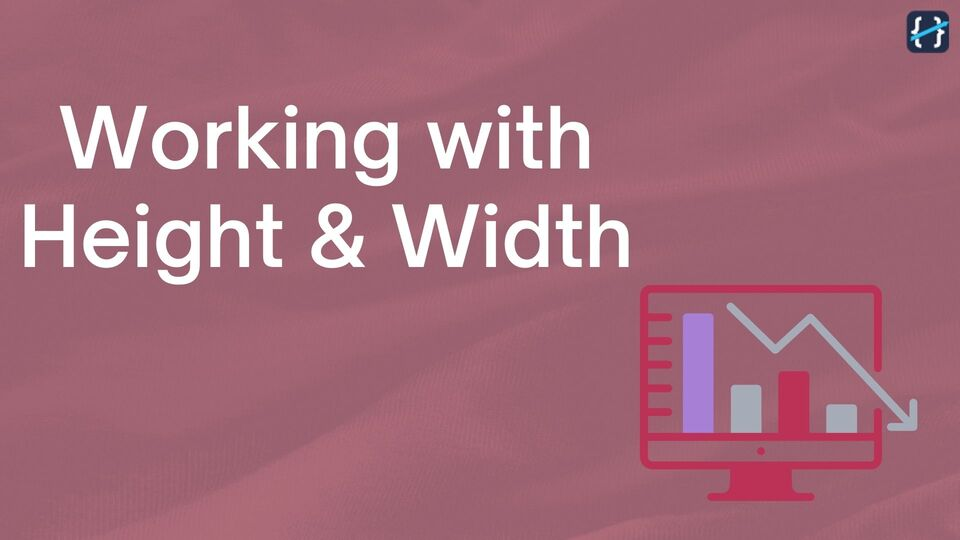 Working with Height & Width of a Component