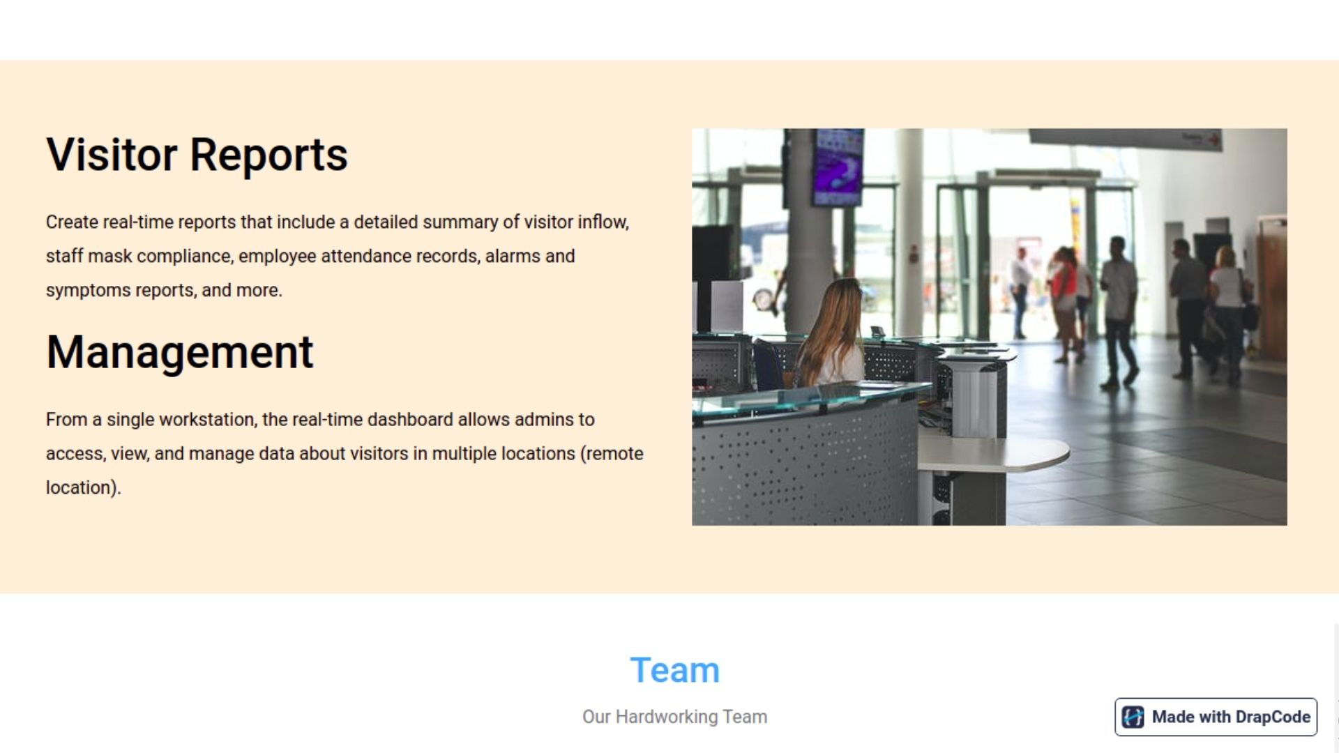 Visitor Management System- Template
